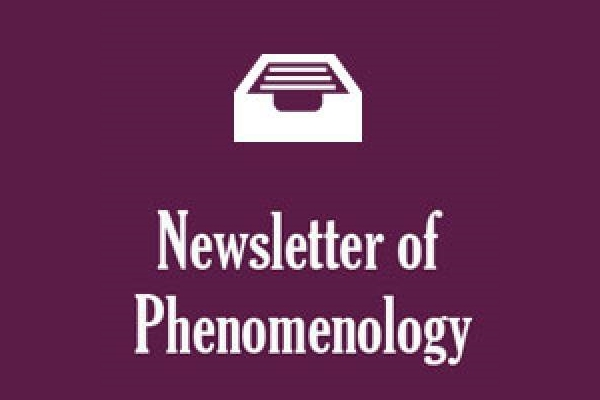 Cooperation with the Newsletter of Phenomenology